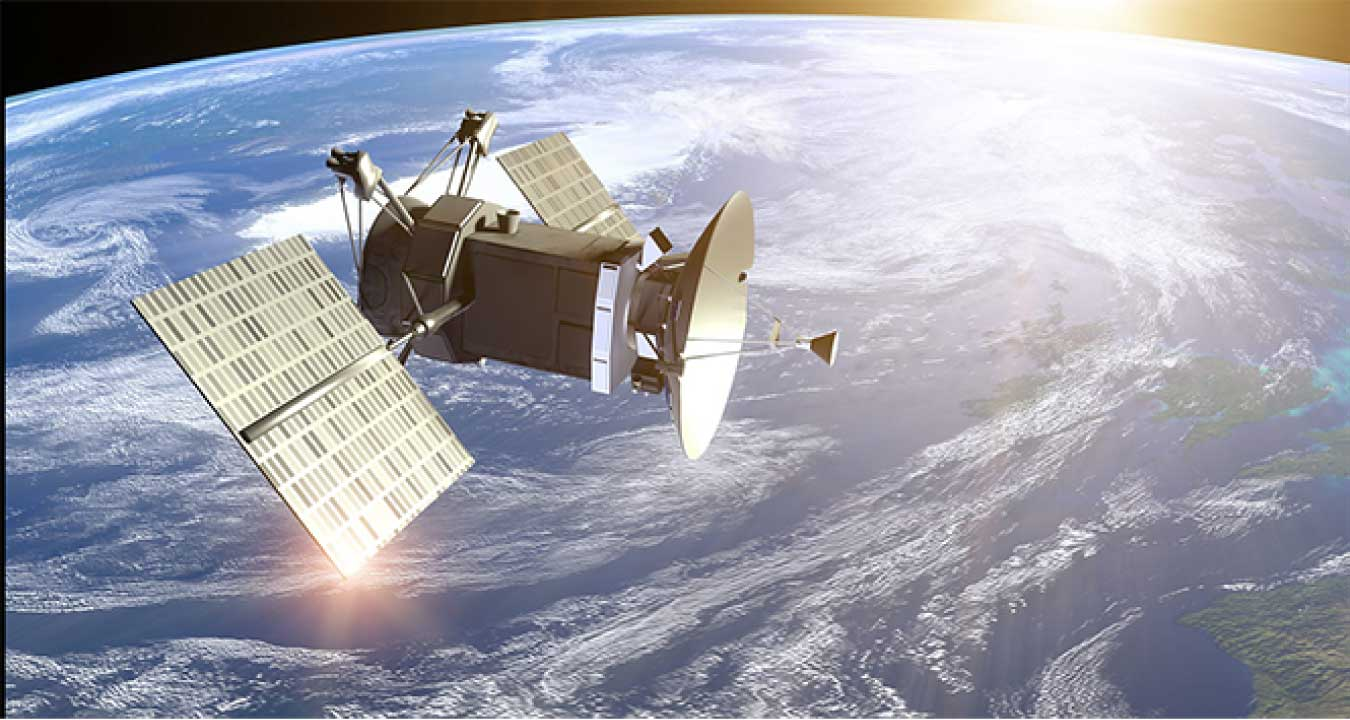 Intelsat Satellite